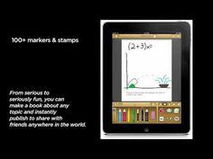 Scribble Press: Skapa böcker med text, egna bilder, foton eller stickers