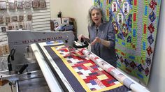 Marianne Fons shares a bit about her passion for Quilts of Valor and the need for longarmers.