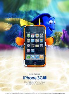iPhone Ad Finding Nemo…