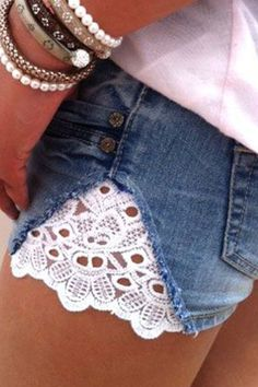 Dale nueva vida a tus pantalones cortos. Foto: Lvlyblog.com