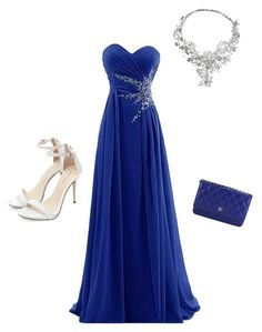 """""""Prom"""" by aprileuri ❤ liked on Polyvore featuring Chanel and Vizati"""