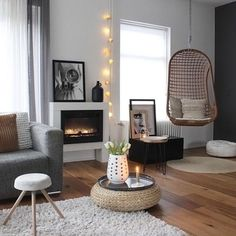 How gorgeous is the living room of @_mirjam_72 Happy Thursday everyone! . #livingroom #livingroomdecor #nordichome #nordicinspiration