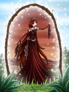Com: Sophi Mystic collection by LaminaNati / Tiara Necklace Belt Dress Hair Character Fantasy Dress, Fantasy Girl, Monster High Art, Fairytale Fantasies, Medieval Fantasy, Winx Club, Pretty And Cute, Cute Art, Mystic