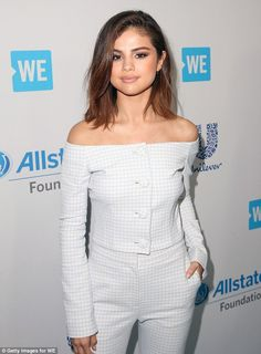 That's better: While the pop star's hair is now not the long wavy style it used to be, on Thursday her locks were back to the collar-bone grazing style she has had for the better part of this year