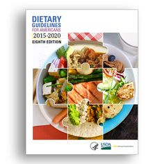 Check out #MyPlate's new key messages from the 2015-2020 Dietary Guidelines for Americans. #DGA2015 #nutrition #USDA #DietaryGuidelines