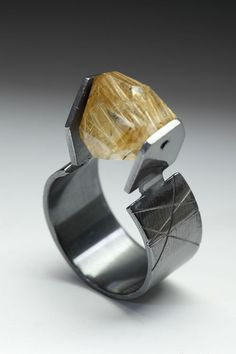LONA NORTHENER    #Contemporary Jewelry    Abstract, based on organic growing and geometric.