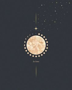 La Luna - always been fascinated with the moon. A goal for 2020 is to get more into how the moon can affect us, and how we can use her to… Follow Me On Instagram, Goal, My Design, Bloom, How To Get, Celestial, Illustration, La Luna, Illustrations