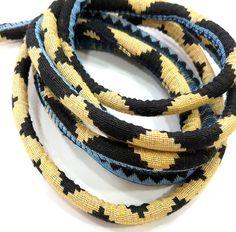 Fabric Cord Thread Cord Tribal Cord Ethnic Cord   1 mt - 3.3 feet (9mm) G6704