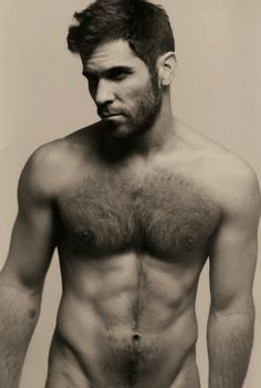 love the facial hair! And call me strange, but I like chest hair too. Back hair is a no thank you, though.. lol