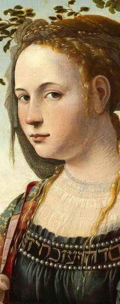 .:. (detail) Maria Magdalena, Jan van Scorel c. 1530 Rijksmuseum, Amsterdam