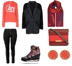 Outfit van de dag: vrijdag #SkyHigh  #RebeccaStella #Nelly #Nike #MarcJacobs #ZoeKarssen #VivienneWestwood Meer weten?