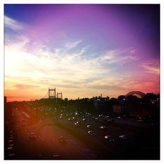 View from Astoria Blvd, N train