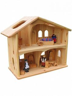 Wooden Dollhouse : Norman and Jules