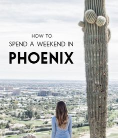 Travel Diary: How To Spend A Weekend in Phoenix, AZ. Activities, dining, and nightlife for a vacation to Phoenix & Scottsdale Arizona.