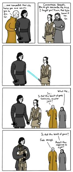 From Russia with Reylo. Arts & ridiculous things