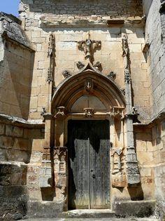 Chateau des Milandes | Ancient gate at the Chateau des Milandes