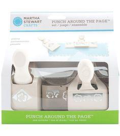 Martha Stewart Crafts Around The Page Punch Pansy