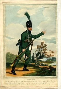 Soldier of the Volunteer Rifle Corps, 1804.