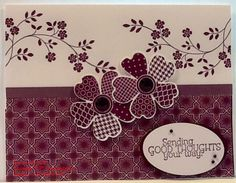 Sending Good Thoughts You Way Stampin' UP!