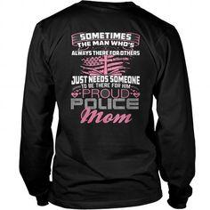 Best PROUD POLICE OFFICER MOM-back Shirt Police Officer, Mom, Sweatshirts, Sweaters, Fashion, Moda, Fashion Styles, Pullover, Sweatshirt