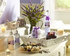 Treat mom to the calming scent of our Lavender Fragrance Collection