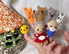 НАША     СТРАНА    МАСТЕРОВ: Вязание крючком пальчиковых игрушек