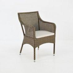 Ellen Wicker Dining Chair (Sand)