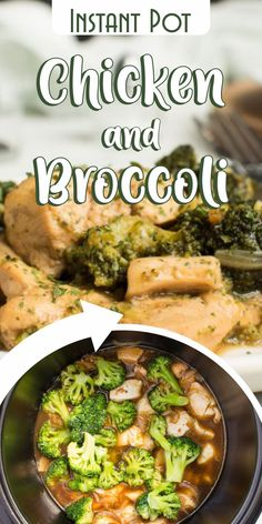 This delicious Instant Pot Chicken and Broccoli is a new and healthier twist on the take-out favorite. In addition of being insanely delicious, the meal itself is gluten-free and dairy-free.    Try making this recipe with other parts of the chicken, like skinless and boneless thighs, or even substitute broccoli with cauliflower. The Instant pot will turn this dish into an amazing weekend dinner for you and your family.