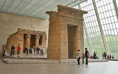 The Temple of Dendur in The Metropolitan Museum of Art  (Photo: The Metropolitan Museum of Art)