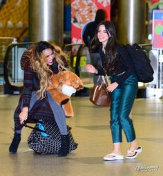 """""""Camila and Dinah today (via diggzy on ig)"""" Forever My Girl, Best Friends Forever, Ally Brooke, Fifth Harmony Lauren, Fith Harmony, Camila And Lauren, Dinah Jane, Friends Mom, Body Inspiration"""
