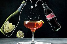 Coke® Cocktails: Pause that Refreshes - Spirited Cocktail Recipes - Southernliving. Recipe: Pause that Refreshes This sparkly cocktail is balanced with sorghum and delivers on its name. Holiday Cocktails, Summer Cocktails, Cocktail Drinks, Alcoholic Drinks, Beverages, Kid Drinks, Baileys Iced Coffee, Pitcher Drinks, Best Cocktail Recipes