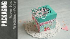 Favor Box - Wedding and Party with Sizzix Big Shot Plus Starter Kit