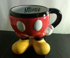 Disney Mickey Mouse Large Ceramic cup Mug #DisneyAuthenticOriginalDisneyThemePark