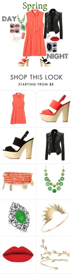 """Spring"" by am79226 on Polyvore featuring Monki, Qupid, Doublju, Emily & Ashley, Natasha Accessories, Bling Jewelry and Sarah & Sebastian"