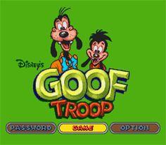 Goof Troop para SNES.