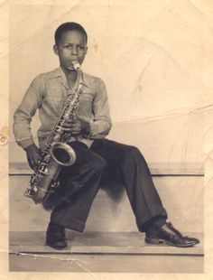 "atane: "" A young Albert Ayler. This photo is from the Holy Ghost: Rare & Unissued Recordings (1962-70) box set. """