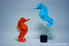 タツノオトシゴ / Seahorse (Gen Hagiwara) Tags: sea horse fish paper origami seahorse gen