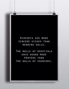 Kisses and prayers