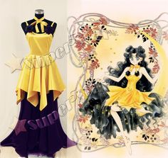 Sailor Moon - Princess Luna Cosplay Costume