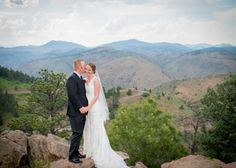 Lookout Mountain Colorado Wedding Playful Moment