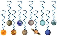 Solar system party decorations...