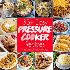 Easy Electric Pressure Cooker Recipes for your Instant Pot are perfect for beginners and anyone looking for new and exciting dinner ideas.