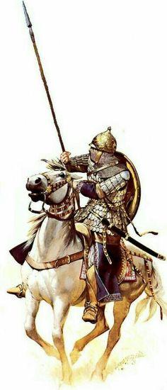 Персидский кавалерист  сельджукской империи  времен 3 крестового похода