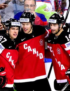 Congrats Team Canada! Go for the gold!