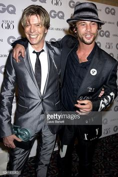 David Bowie -Jay Kay GQ Men of the Year Awards getty images