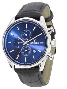 Men's Chrono S - Blue Watch – Vincero Collective