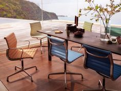 Vitra | Aluminium Chairs EA 105, EA 107, EA 108