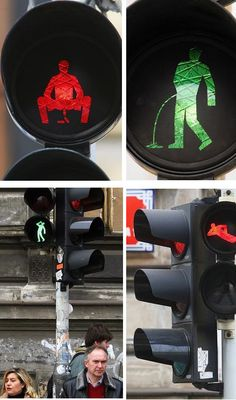 11 Creative Traffic Lights (traffic lights) - ODDEE