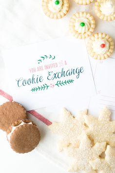 We Have Rounded Up The Latest And Greatest Cookie Exchange Free Printables On The Net To Help You Deck Out Your Cookie Party This Year!
