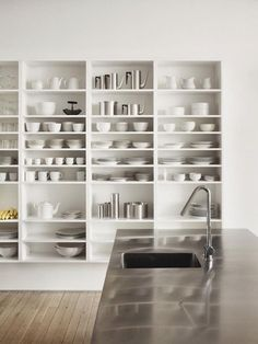DPAGES – a design publication for lovers of all things cool & beautiful | Seventeen Reasons To Love Open Kitchen Shelving